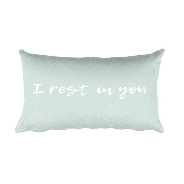 I rest in you