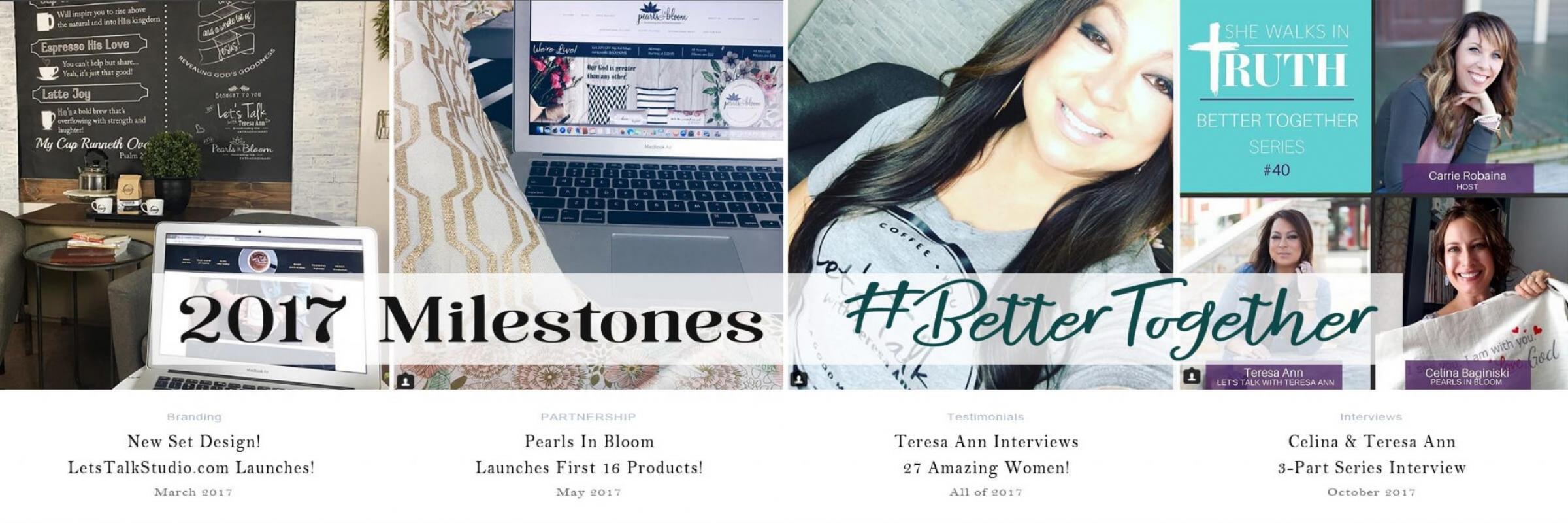 Pearls In Bloom Let's Talk Timeline