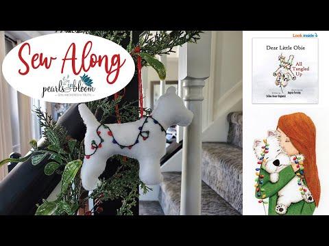 Sew Along - Westie Ornament