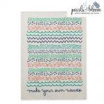make your own waves tea towel
