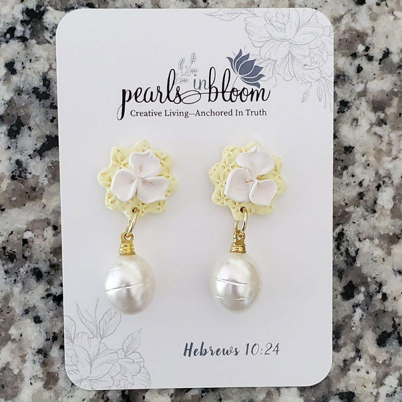 pearls in bloom