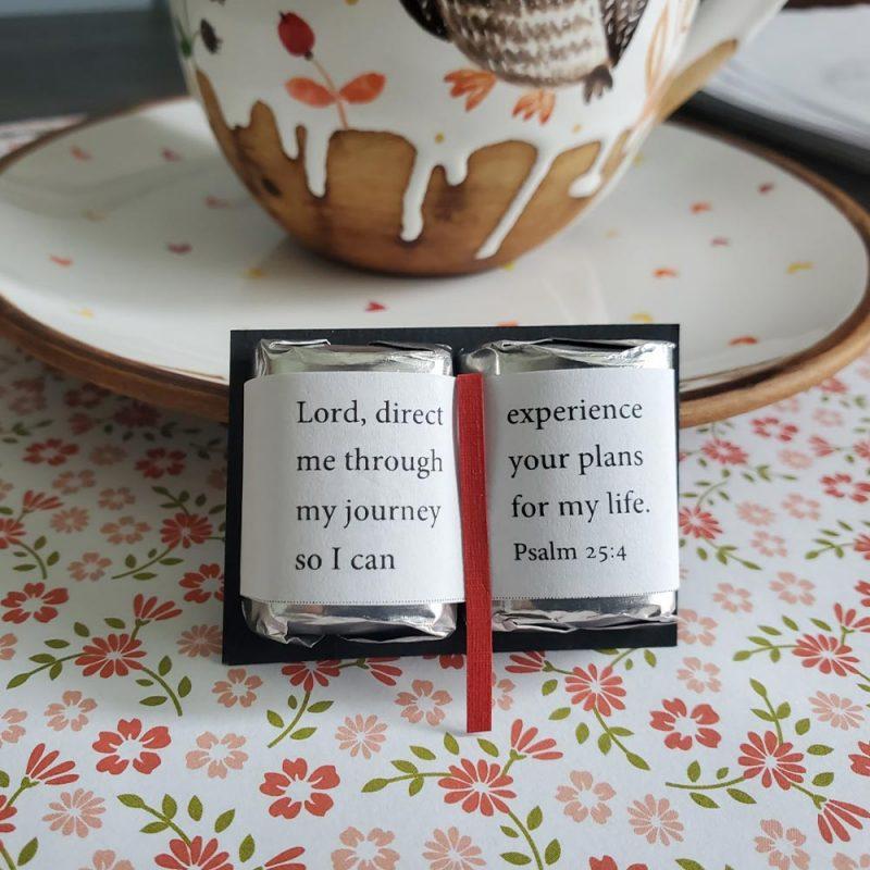 mini chocolate bible